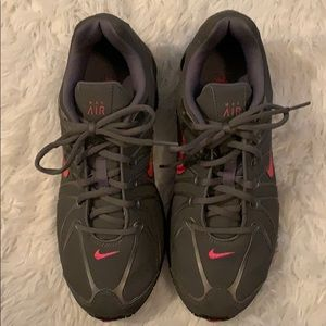 Women's gray Nike Max Air